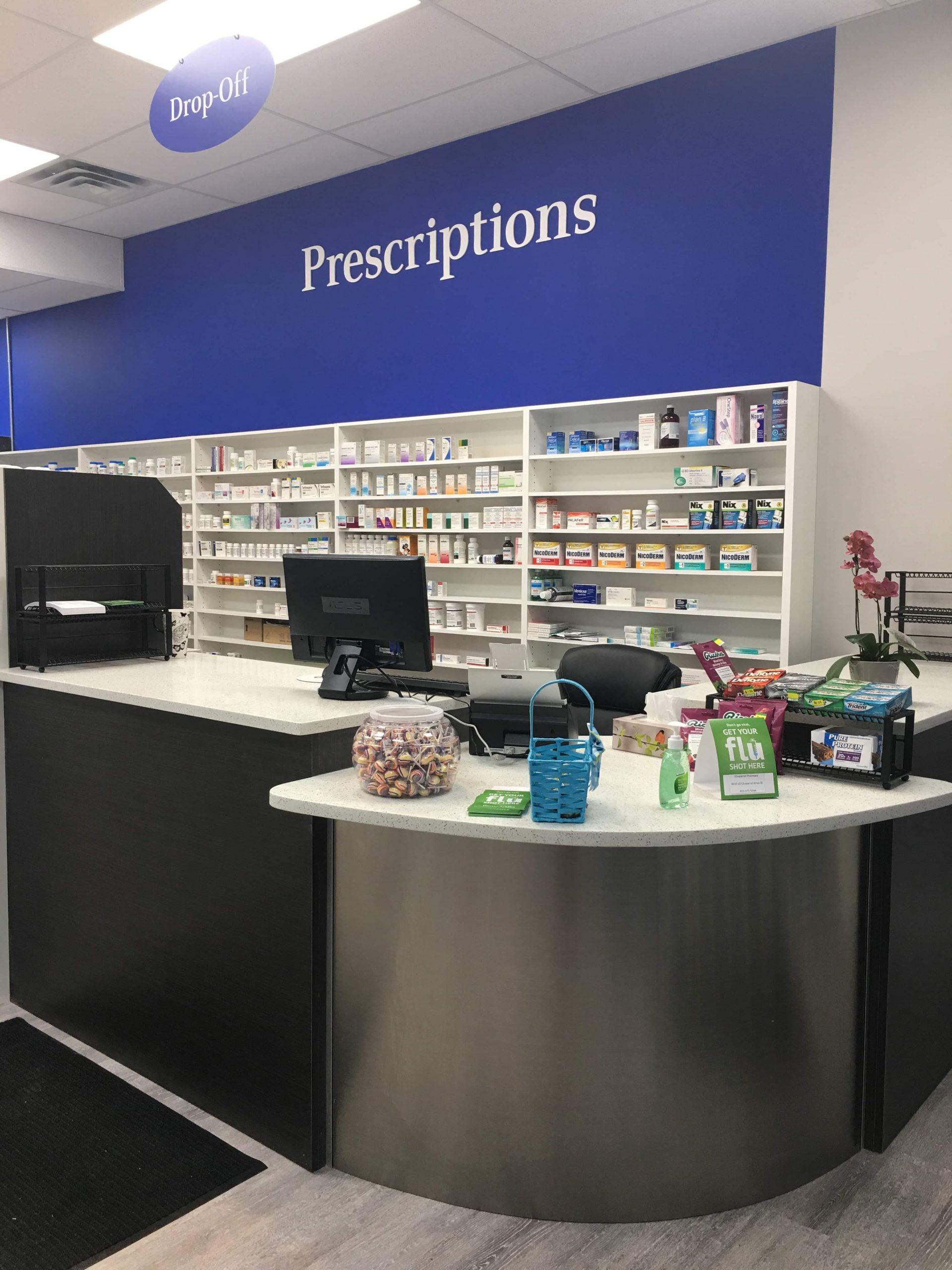 Chaparral Pharmacy - Prescriptions Section