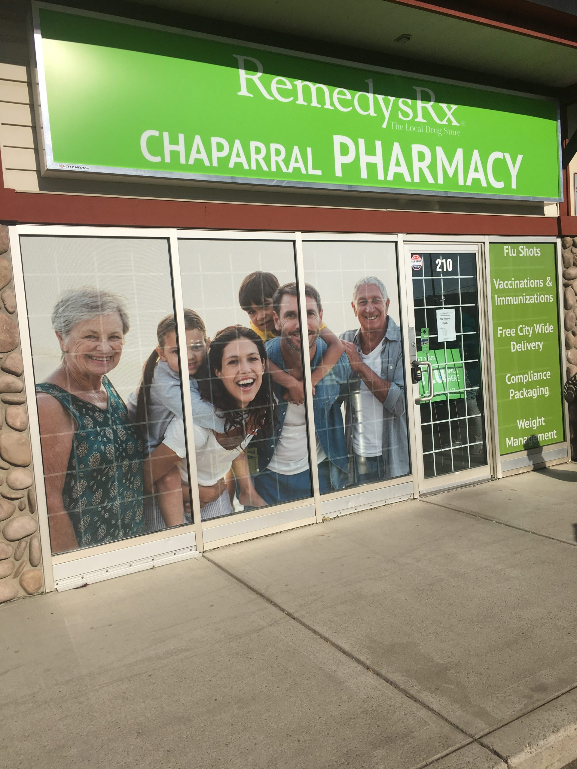 Chaparral Pharmacy at Chaparral Corner beside Chaparral Medical Clinic and Pizza 73