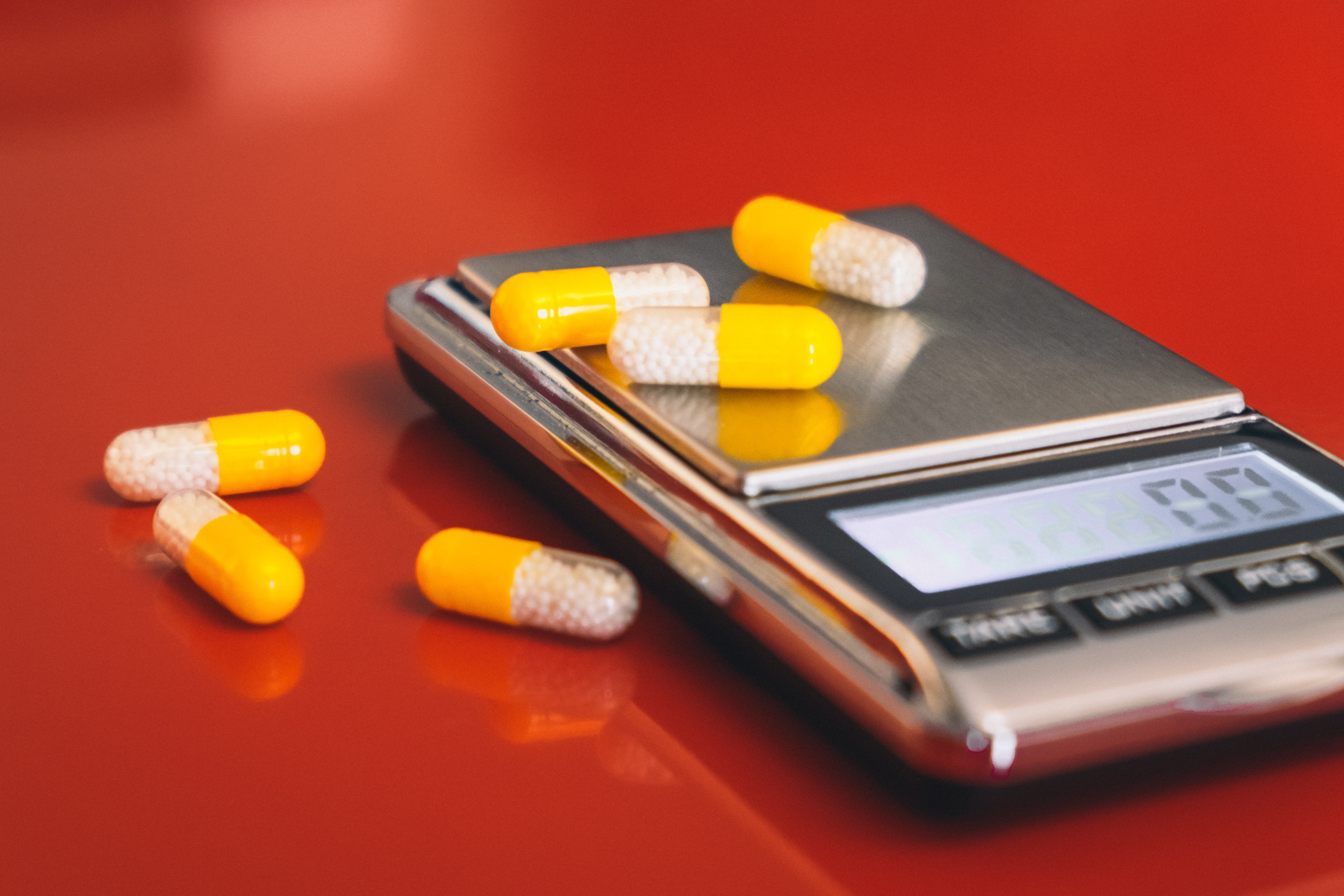 Compounded medications in capsules